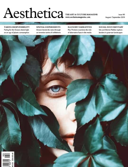 Aesthetica magazine front cover