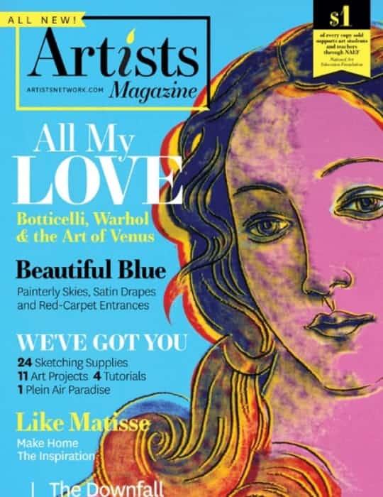 Arts on Art Magazine magazine front cover