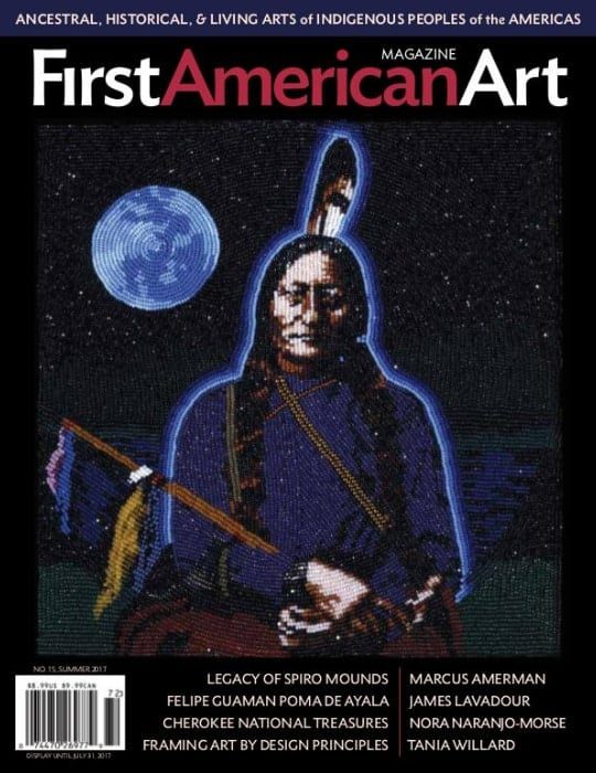 First American Art Magazine front cover