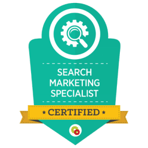 Search Marketing Specialist Certification For Rankme1