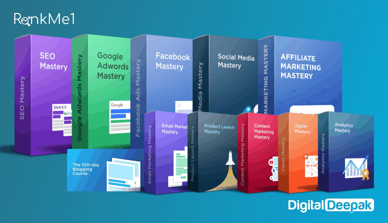 digital deepak mastery courses bundle