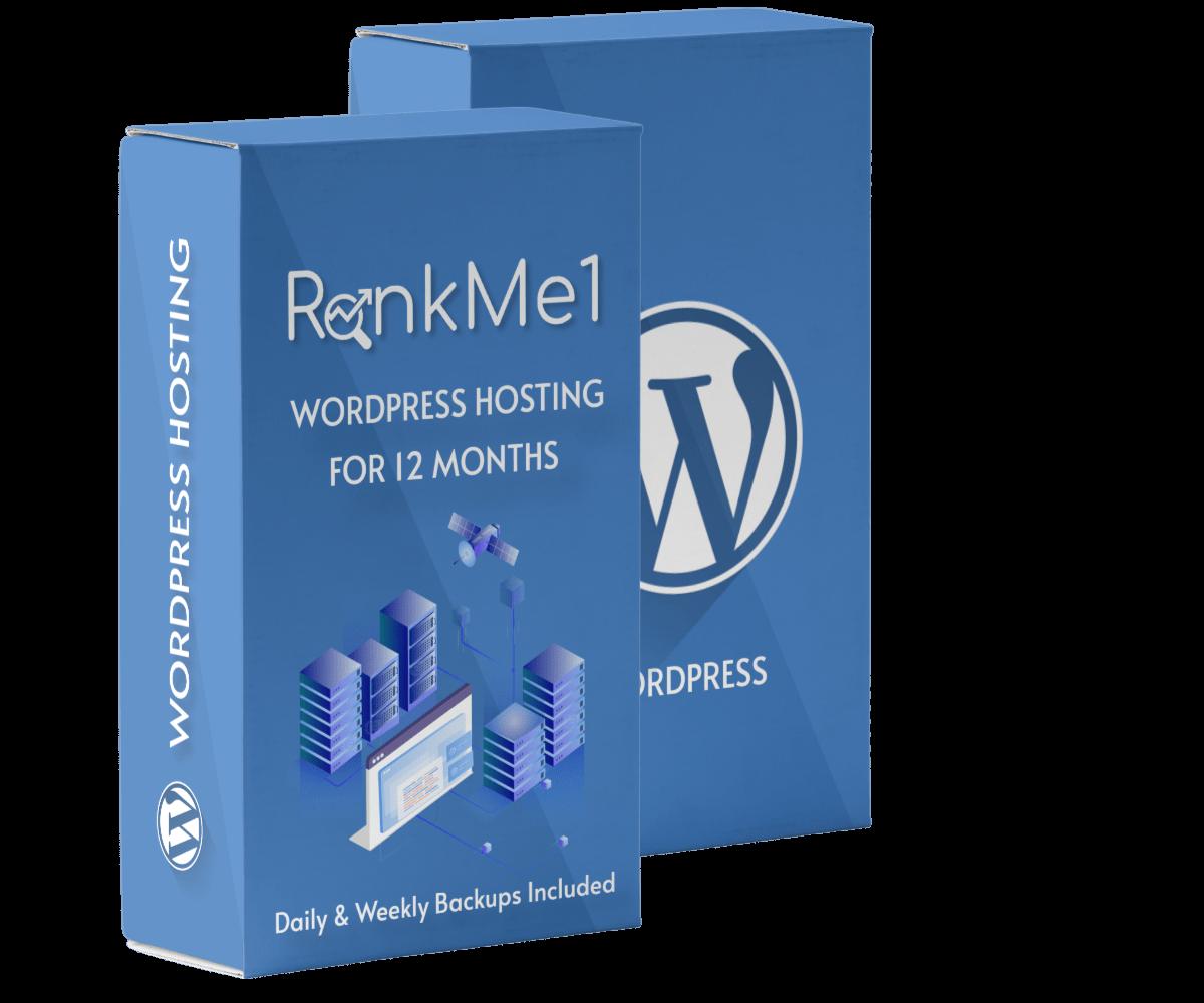 Get WordPress Hosting For 12 Months as bonus for students of pro bundle