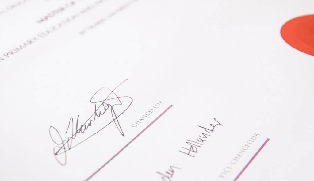 a sample digital marketing certificate