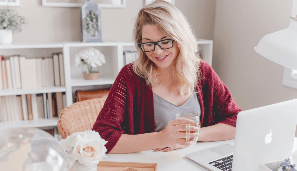 A Freelancer Working From Home