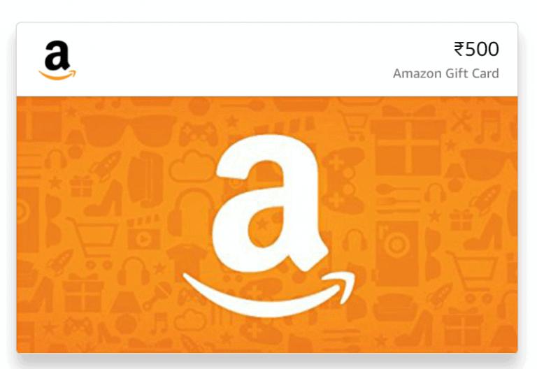 amazon india gift card