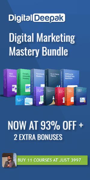 digital marketing mastery courses by deepak kanakaraju